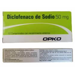 Diclofenac Sódico - 50mg